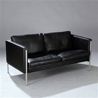 freestanding two seater sofa by o&m design (erik marquardsen and takashi okamura)