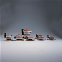 kaffeeservice (set of 9) by bartolomeo tortarolo