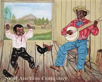 dancing to the banjo by maud d. hurst