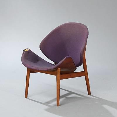 Beautiful Appelsinen Chair (model 55) By Hans Olsen