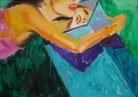 girl with a mirror by januz haka
