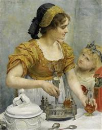 vorbereitung zum festmahl by franz xavier simm