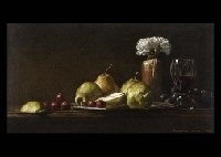 carnation and pears by toshiro aoki