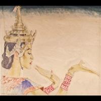 danzatrice siamese by franz lenhart