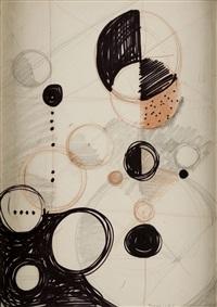 composición con círculos by werner drewes