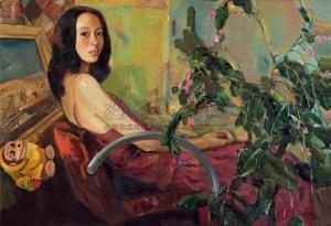 女儿 daughter by bai yuping