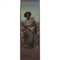 haitain drum player by william edouard scott
