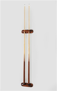 ohne titel (double self portrait) by jonathan monk