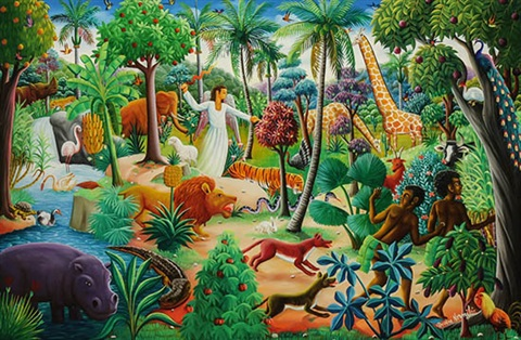 Expulsion From The Garden Of Eden By Andre Normil On Artnet