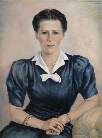 Frau Johanna Schmid, geb. Wagner by Kurt Weinhold on artnet