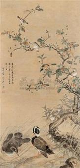 花鸟 by liu yanchong