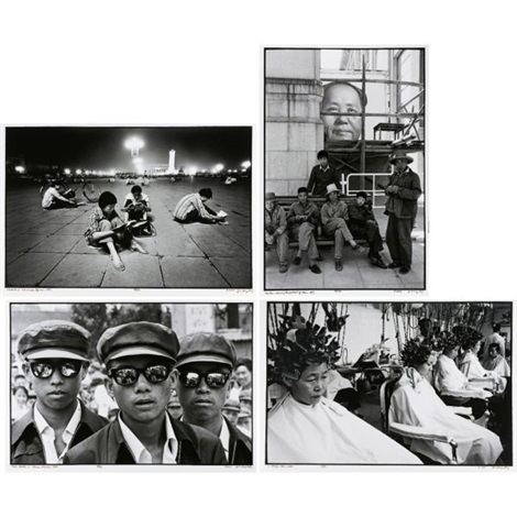 students in tiananmen 3 others 4 works by liu heung shing