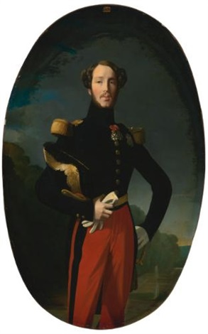 portrait de prince ferdinand phillipe duc dorléans by jean auguste dominique ingres
