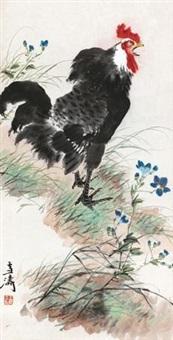 公鸡 by wang xuetao