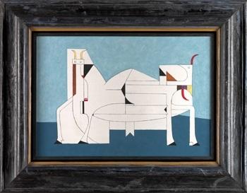 toros by oscar domínguez