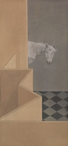 虚探 a horse by xu lei