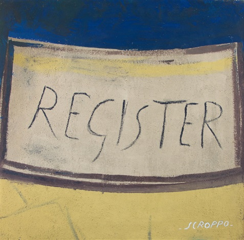 register by filippo scroppo