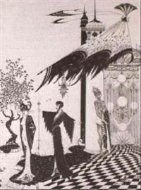 aus einem orientalischem marchen by alastair (hans henning baron vogt)