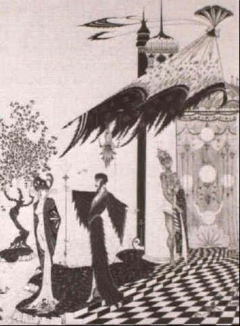 aus einem orientalischem marchen by alastair hans henning baron vogt
