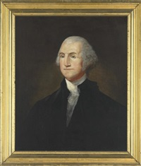 portrait of george washington by edward hicks