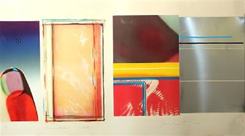 horse blinders south by james rosenquist