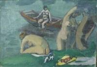 les baigneuses by marcel niquet