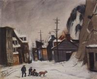 street scene by dewey albinson