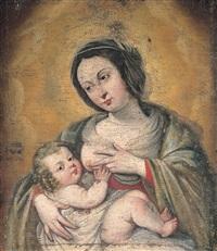 madonna col bambino by francesco de rosa