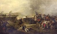 battaglia by adolphe eugène gabriel roehn