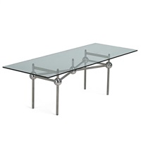 dining table by yonel lebovici
