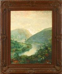 river landscape by h. irving marlatt