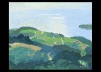 hill at ushimado by hitoshi yamaba