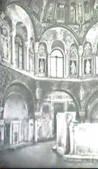 interieur der basilika san vitale zu ravenna by emanuel stöckler