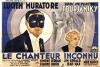 lucien muratore in le chanteur inconnu (poster) by roland coudon