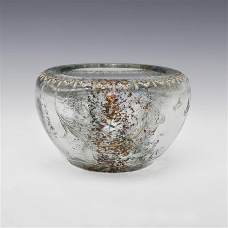 dragonfly bowl by émile gallé