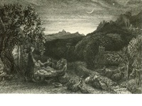 an english version of the eclogues of virgil (bk w/5 works) by samuel palmer