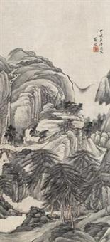 秋山萧树 by xue xuan