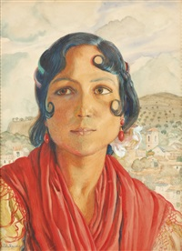 gitana de granada (gypsy of granada) by george owen wynne apperley