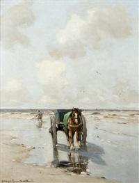 pêcheur de coquillages by gerhard arij ludwig morgenstjerne munthe