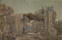la casa dei contadini, capri by strafford newmarch