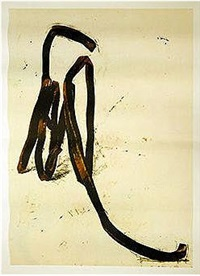 untitled (lithograph by charles sorlier) by bernar venet