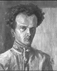 salbstportrait by karl godeg