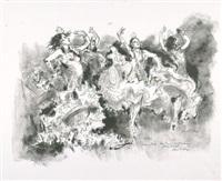 spanische impressionen (portfolio of 2) by hans liska