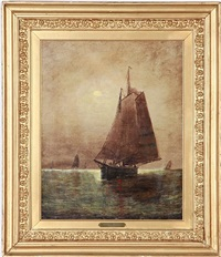 sailing in the moonlight by elbridge wesley webber