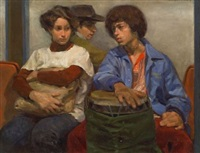 subway trio by max ginsburg