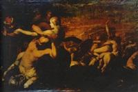 la batalla entre los lápitas y centauros by giuseppe simonelli