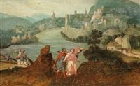 weite landschaft mit tobias und dem engel by flemish school (16)