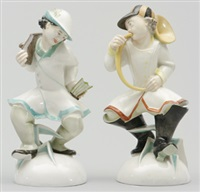 figuriner (set of 2) by mauritius pfeiffer