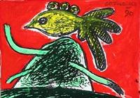 bird by corneille
