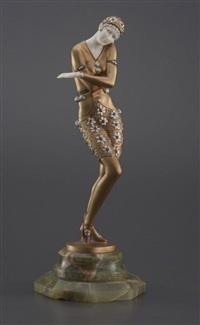 danseuse orientale by otto poertzel